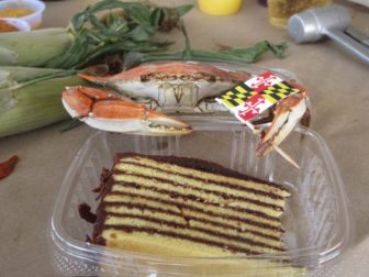 Tawes Smith Island cake crab