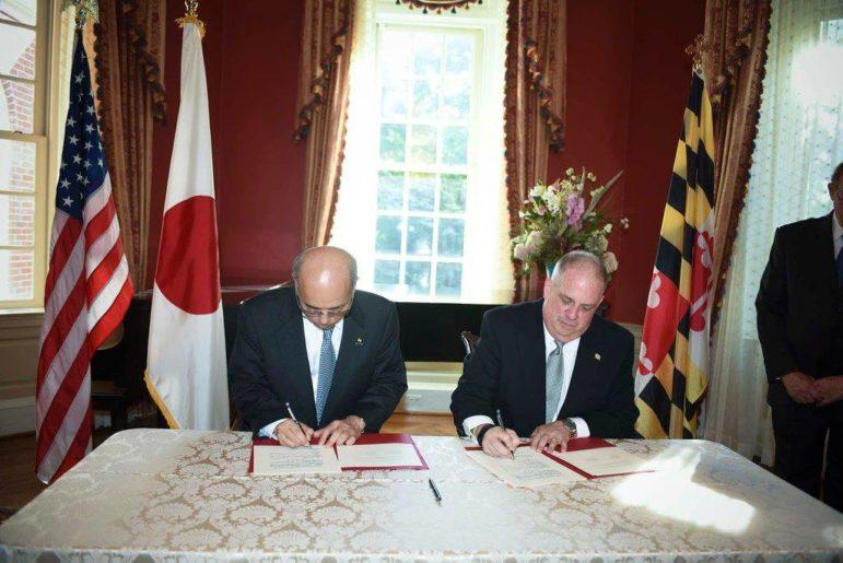 Hogan Japanese ambassador Sasae