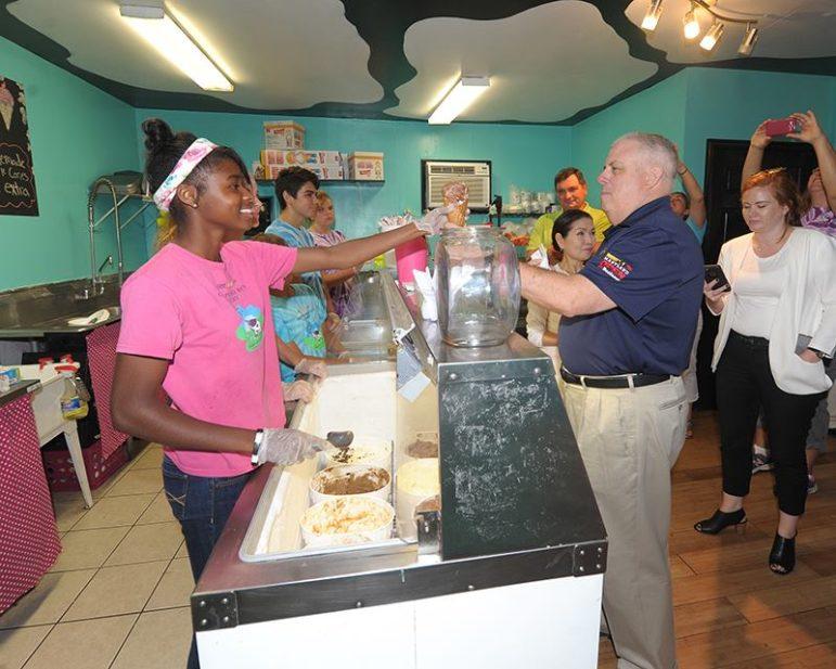 Hogan ice cream cone