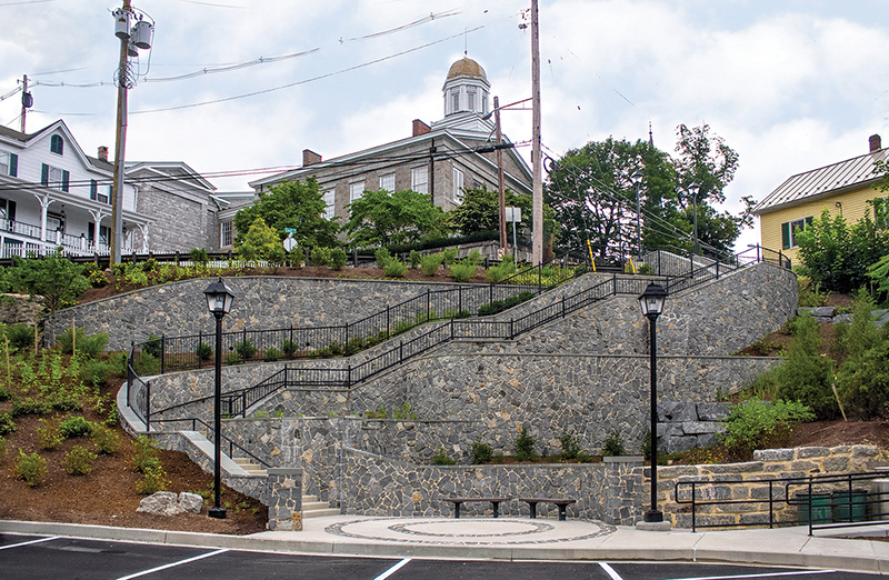 Ellicott City stairway catches the eye and stormwater