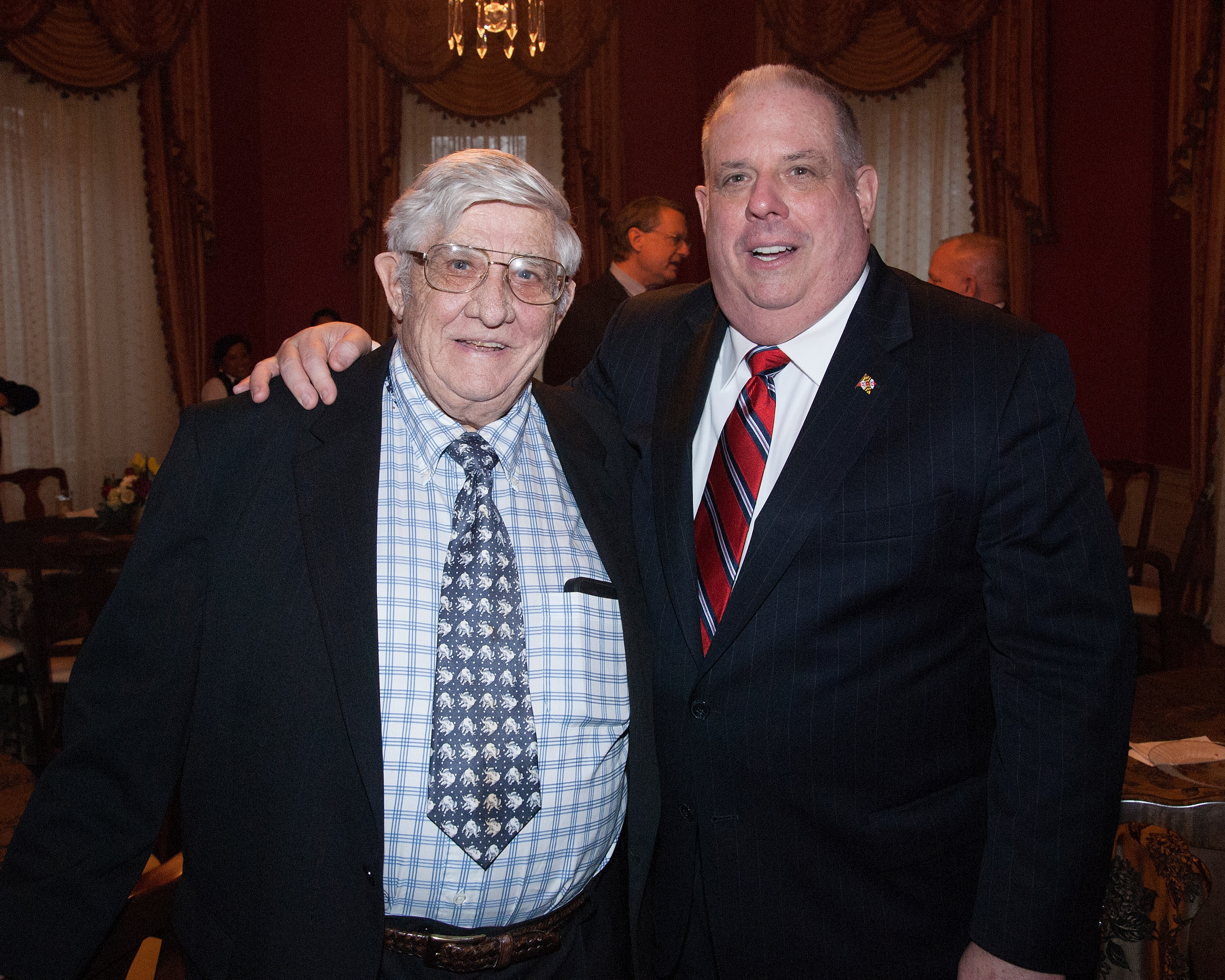 Rascovar: Larry Hogan Sr. showed courage when it counted