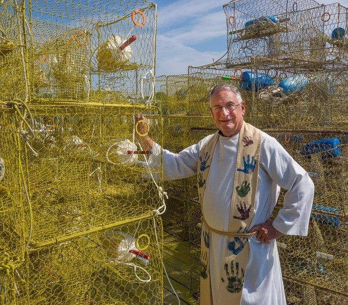 Smith Island losing land, people and now its shepherd
