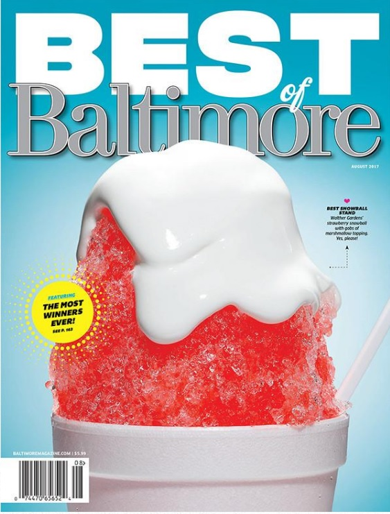 "MarylandReporter.com ""Best of Baltimore"" again"