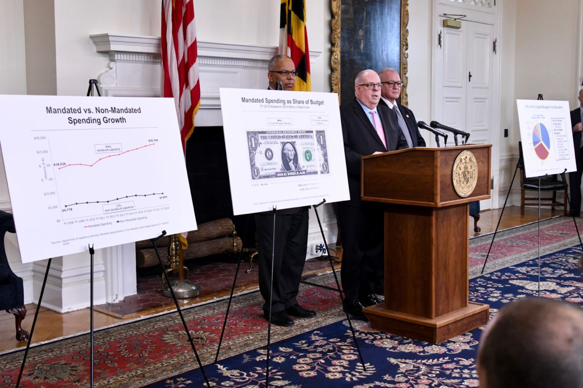 MD State Lawmakers Bicker Over Breakfast with Governor