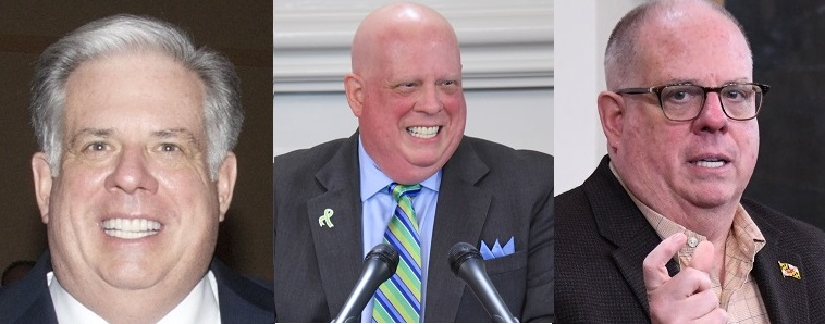 Larry Hogan faces cancer with good humor — again