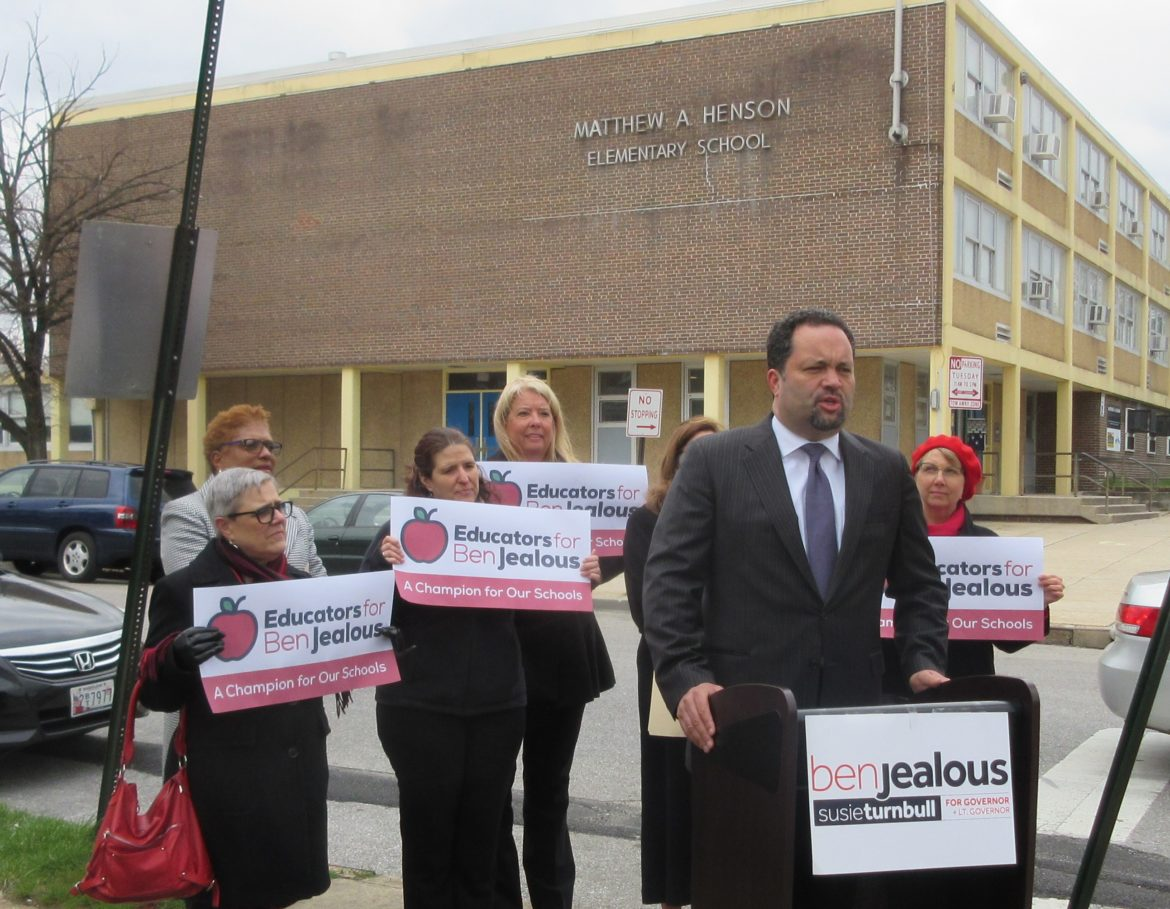 d62fdb4a27a Teachers give Jealous a boost over Baker in campaign for governor ...
