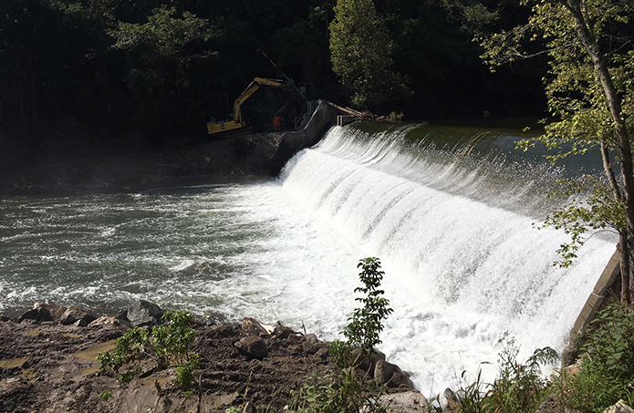 Patapsco River dam set for demolition