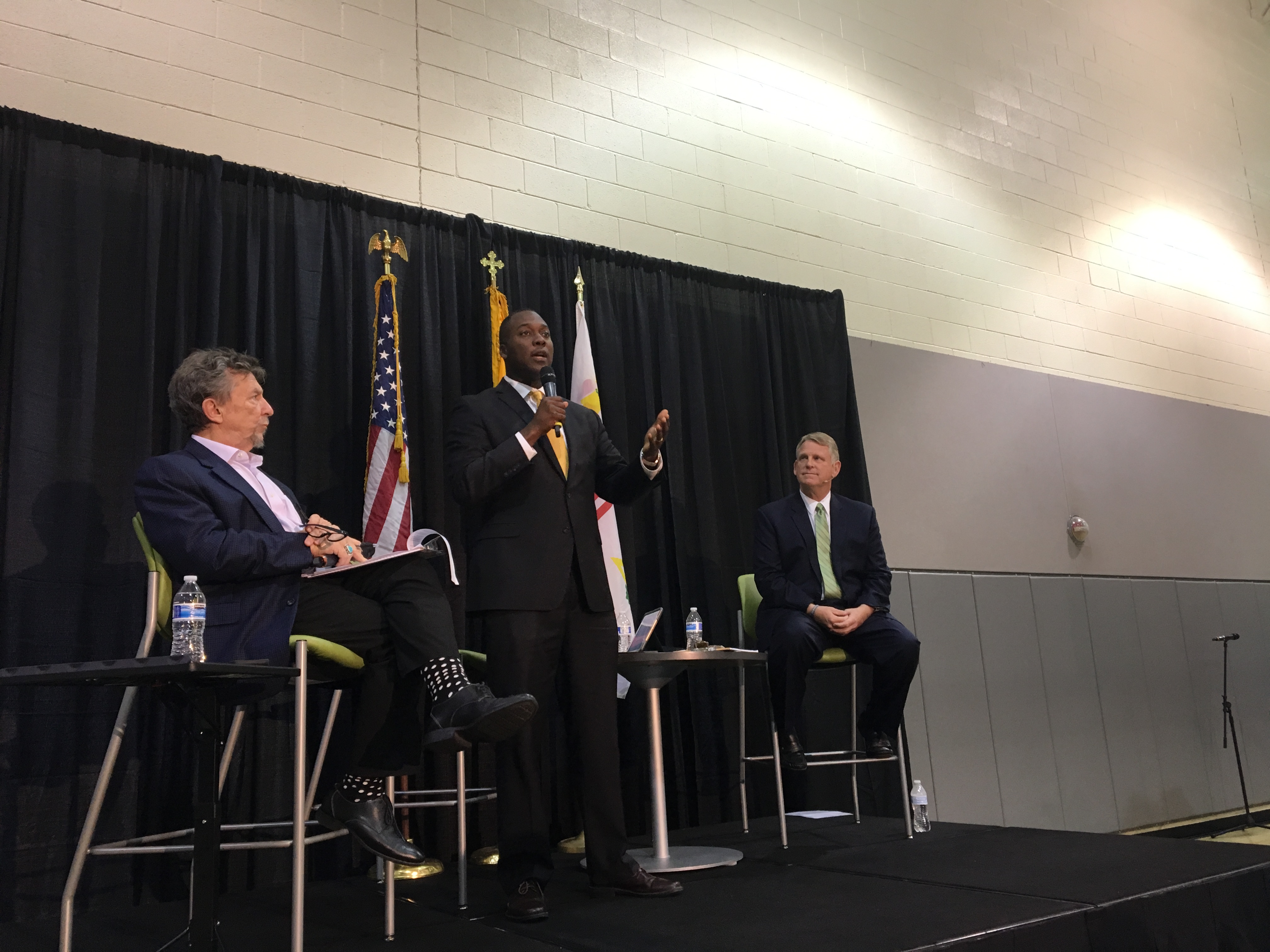 Kittleman, Ball come out swinging in combative debate