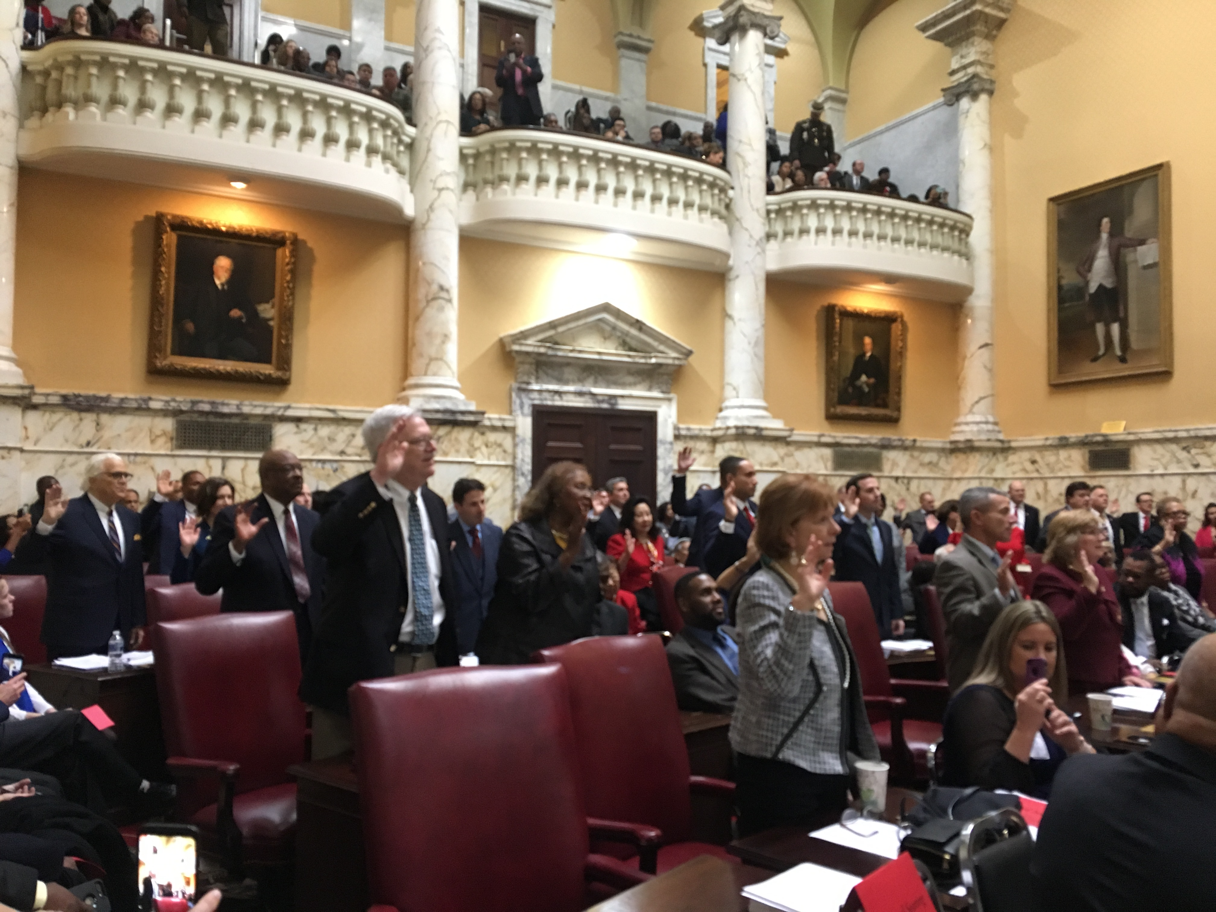 Gallery: Opening day of the new Maryland General Assembly