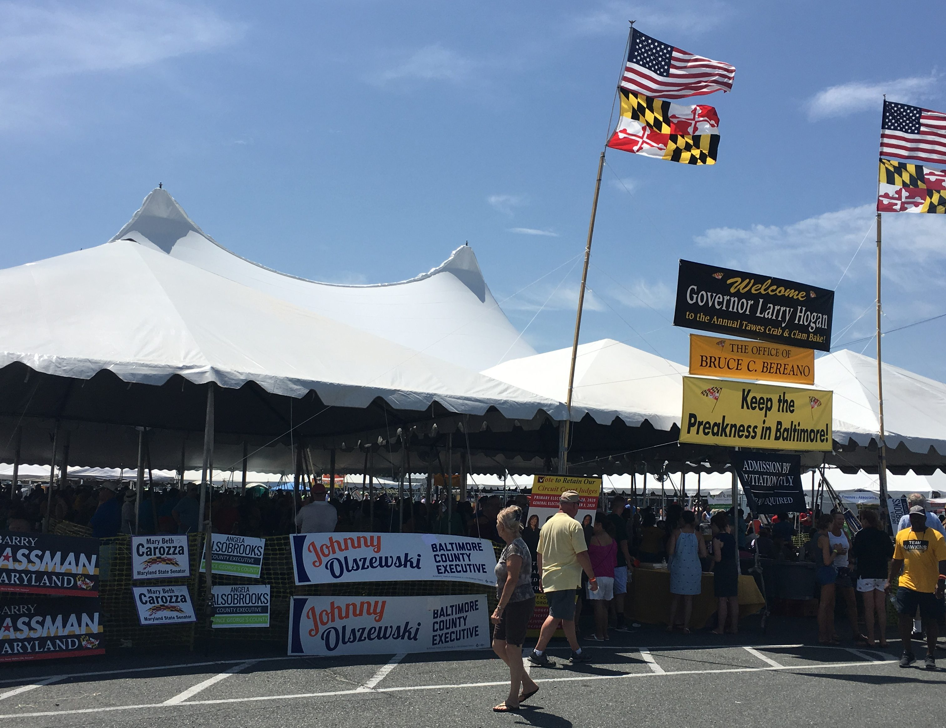 Steamed: Crabs, politicos and patrons at Tawes