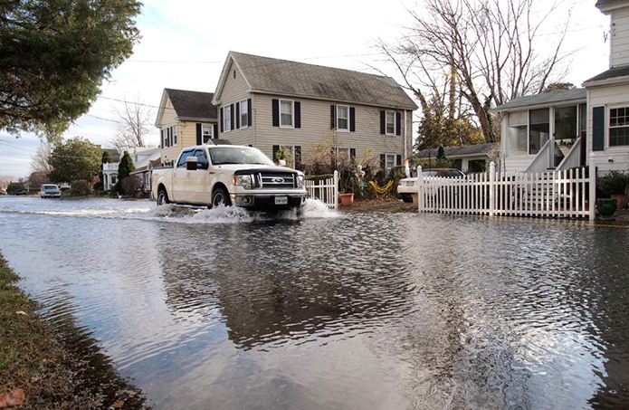 'Sunny day' floods a rising threat in region, including Annapolis, Baltimore, D.C.