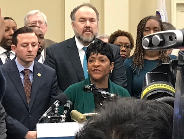 Democratic leaders in Annapolis propose crime-reduction package targeting illegal guns, recidivism