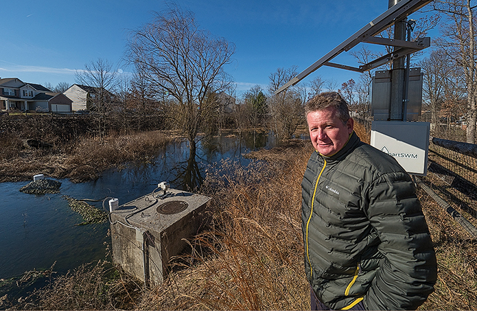 Smart ponds creating a splash in field of stormwater control