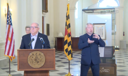 Hogan says it is unclear when life will return to normal