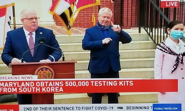 The Hogans get 500,000 coronavirus tests from South Korea