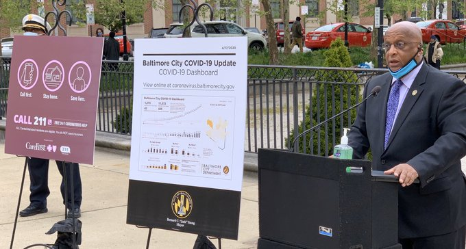 Young defends Baltimore's response to coronavirus pandemic