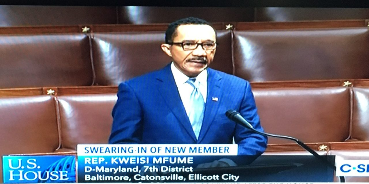 State Roundup: Kweisi Mfume is sworn in to Congress