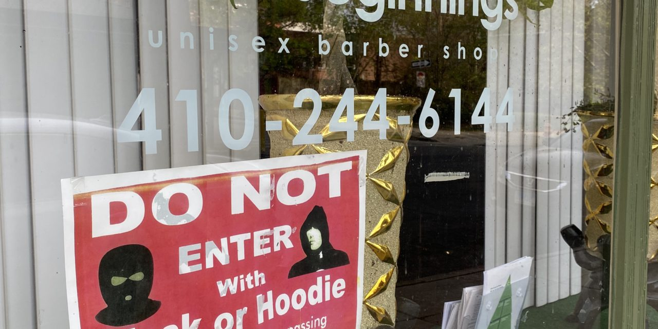 Baltimore barbershops help neighbors cope with trauma