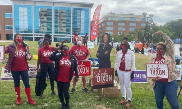 State Roundup: Sheila Dixon leads for mayor; protests continue around Md.