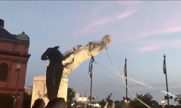 Szeliga calls for the prosecution of Columbus statue vandals