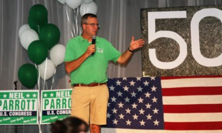 State Roundup: Big crowd at Parrott fundraiser draws criticism
