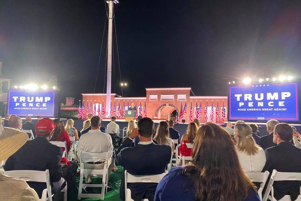State Roundup: Pence, Trump at Fort McHenry