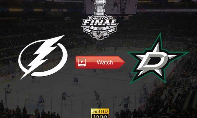 Stanley Cup Finals 2020 Stars vs Lightning Live Stream Reddit Online Free