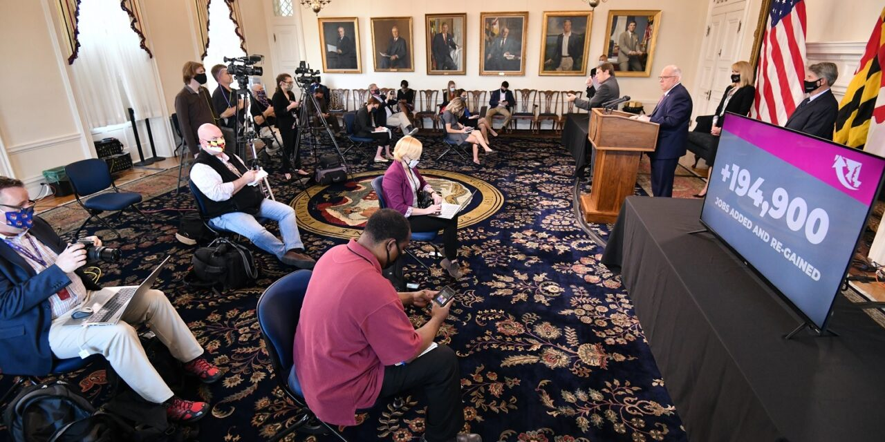 State Roundup: Hogan announces $250M business relief fund from rainy day money