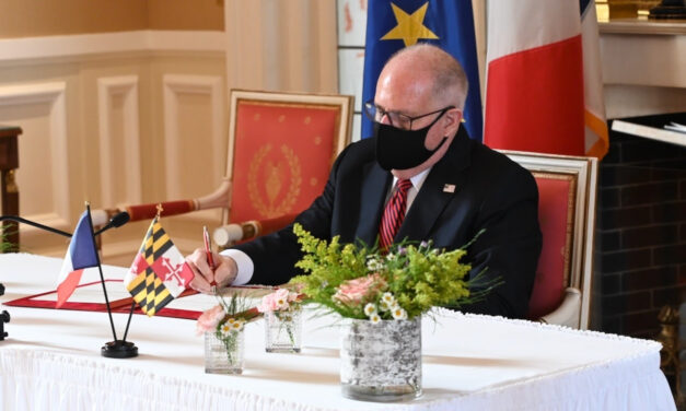 Maryland signs Sister State agreement with region in northern France