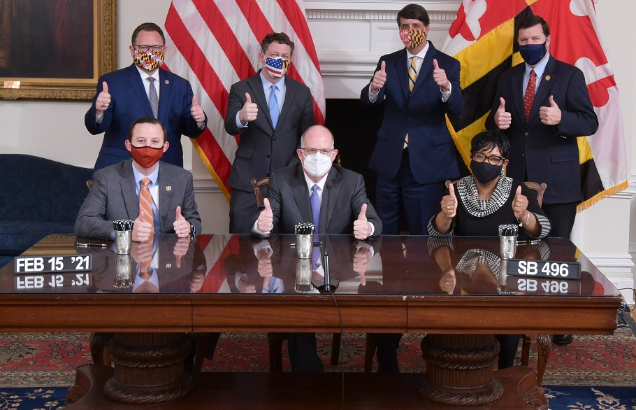 State Roundup: Hogan signs $1.2 billion relief bill; funds target hard hit Marylanders, businesses