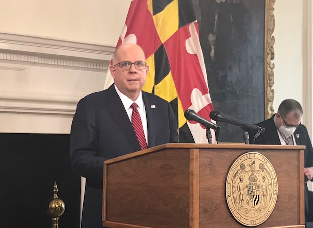 Hogan: State not yet ready to lift capacity restrictions on bars and restaurants