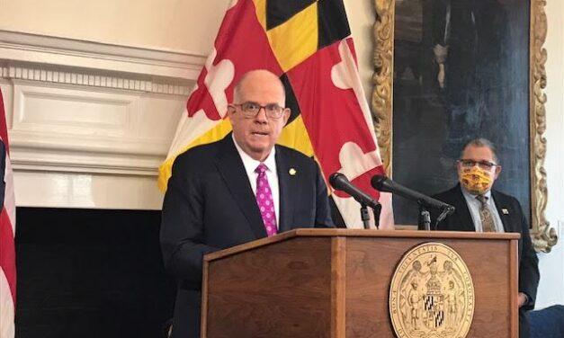 Hogan defends Maryland's COVID-19 vaccine distribution record