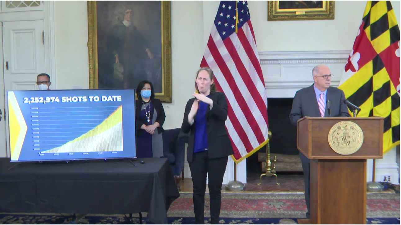 Hogan: State to add six new mass vaccination sites in April ...