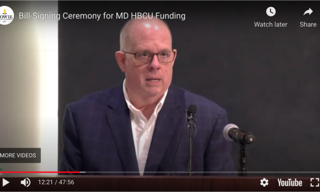 Hogan signs legislation to ensure more equitable funding for Md's historically black colleges