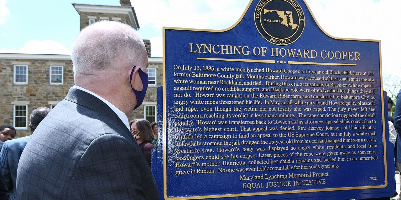 State Roundup: Hogan posthumously pardons 34 lynching victims in Maryland
