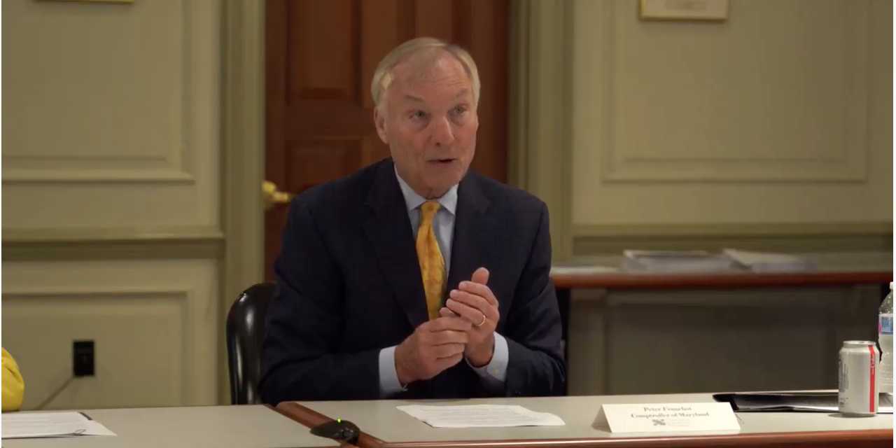 Franchot: 'morally and fiscally prudent' to provide continued oversight over use of pandemic relief funds