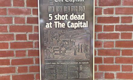 State Roundup: Capital Gazette killer gets 6 life terms; Van Hollen concerned economy will falter if Republicans won't raise debt ceiling