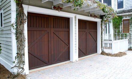 Castle Fort Garage Door