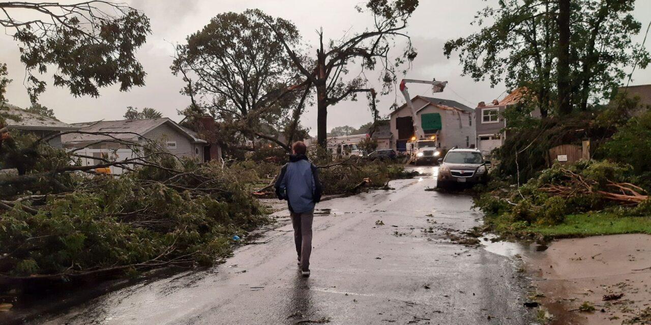 State Roundup: Tornado hits Annapolis; Elrich backs vaccine passports; Hogan, Franchot blast city schools' lack of AC