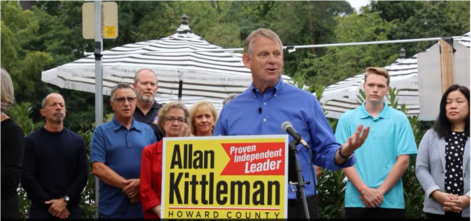 Kittleman seeks rematch with Ball for Howard County executive