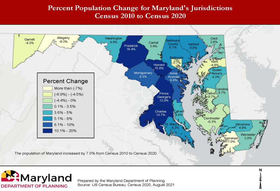 Redistricting groups faced with uneven population growth